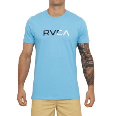 Camiseta RVCA Scanner Masculina Azul