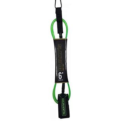 Leash Bullys 6' Golden - 6mm Regular Verde