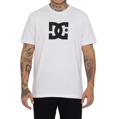 Camiseta DC Shoes DC Star Masculina Branco