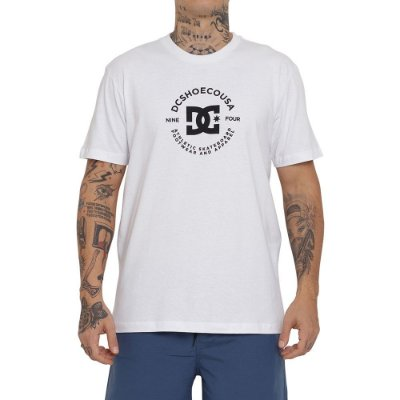Camiseta DC Shoes DC Star Pilot Masculina Branco