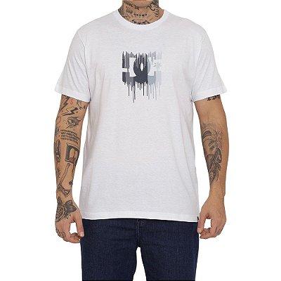 Camiseta DC Shoes DC Star Drip Masculina Branco