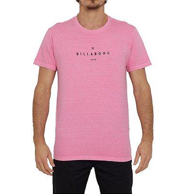 Camiseta Billabong Portal Masculina Rosa