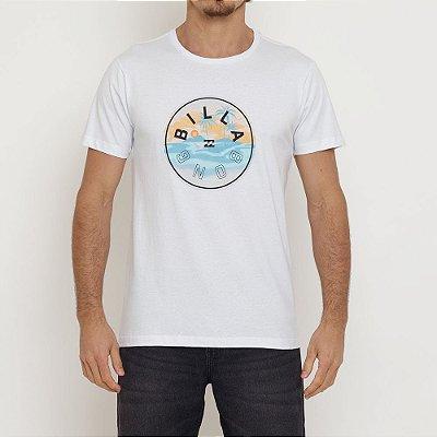 Camiseta Billabong Rotor I Masculina Branco