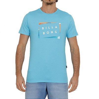 Camiseta Billabong Die Cut Masculina Azul
