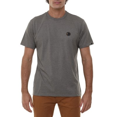Camiseta Quiksilver Patch Round Masculina Verde