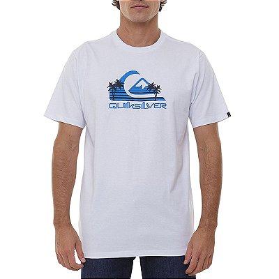 Camiseta Quiksilver Summer Dayz Masculina Branco