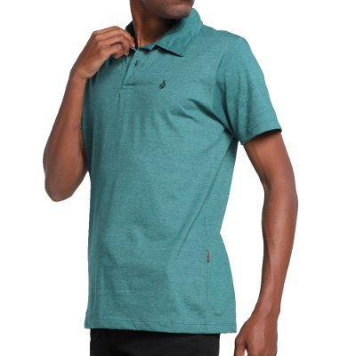 Camisa Polo Volcom Corporate Masculina Verde