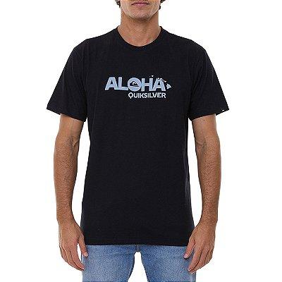 Camiseta Quiksilver Hi Standard Masculina Preto