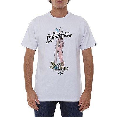 Camiseta Quiksilver Ocean Scape Masculina Branco