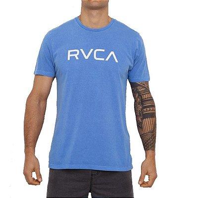 Camiseta RVCA Big Rvca Masculina Azul