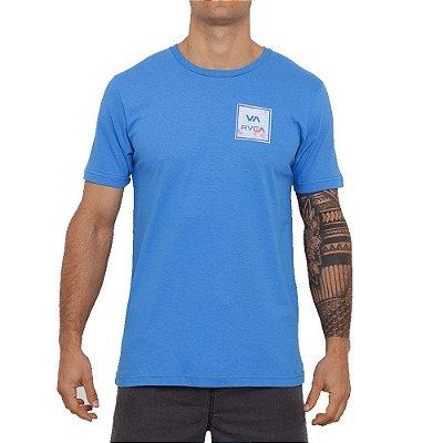 Camiseta RVCA Va All The Way II Masculina Azul Marinho