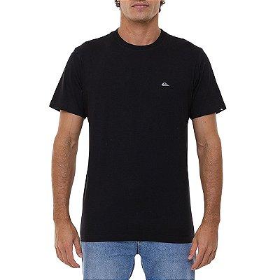 Camiseta Quiksilver Embroidery Masculina Preto