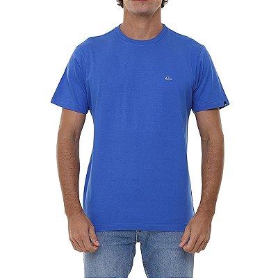 Camiseta Quiksilver Embroidery Masculina Azul