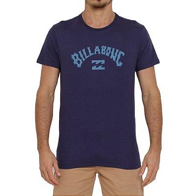 Camiseta Billabong Arch Wave Masculina Azul Marinho