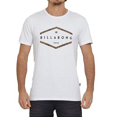 Camiseta Billabong Access Masculina Branco