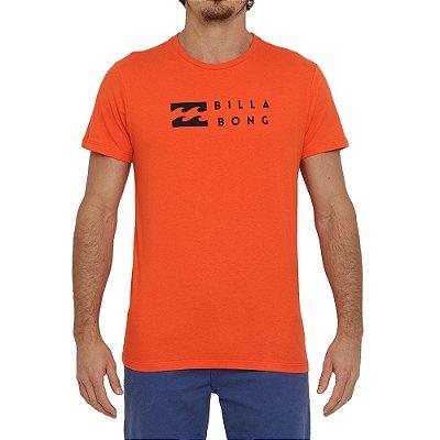 Camiseta Billabong United I Masculina Vermelho