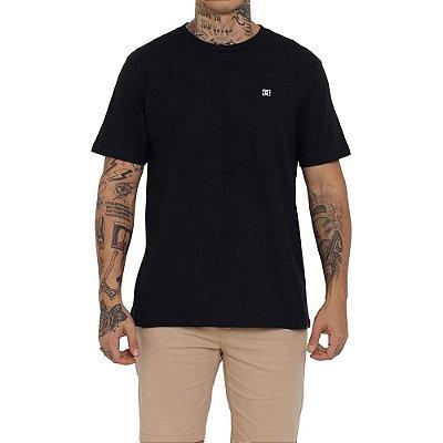 Camiseta DC Shoes Embroidery Star Masculina Preto