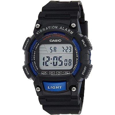 Relógio Casio Standard W-736H-2AVDF Preto/Azul