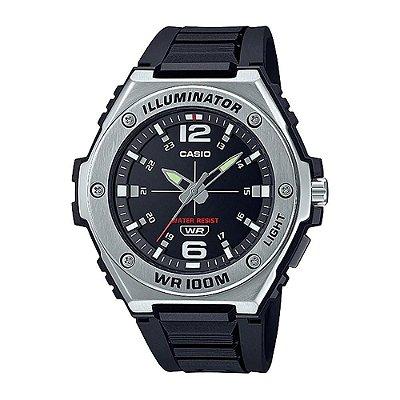Relógio Casio Standard MWA-100H-1AVDF Preto