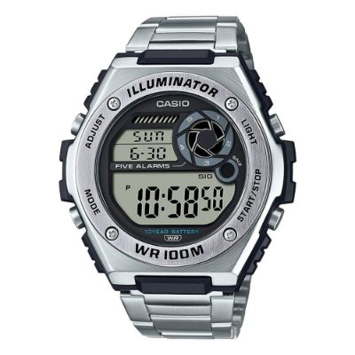 Relógio Casio Standard MWD-100HD-1AVDF Prata
