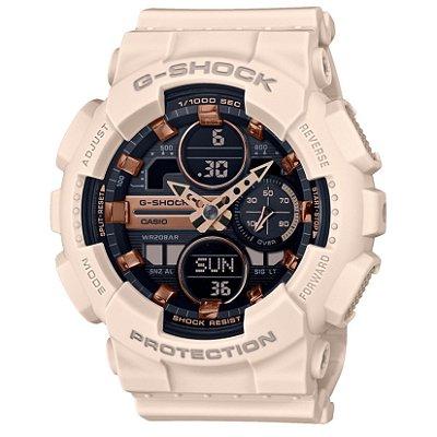 Relógio G-Shock GMA-S140M-4ADR Off White