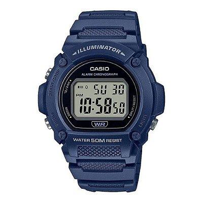 Relógio Casio Standard W-219H-2AVDF Azul