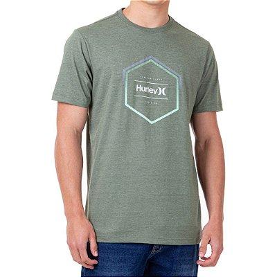 Camiseta Hurley Hexa Masculina Verde