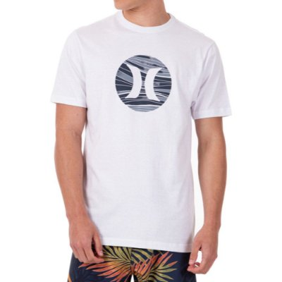 Camiseta Hurley Layers Masculina Branco