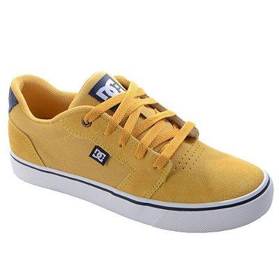 Tênis DC Shoes Anvil LA Masculino Amarelo