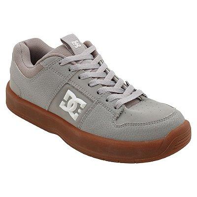 Tênis DC Shoes Lynx Zero Masculino Cinza Claro/Marrom
