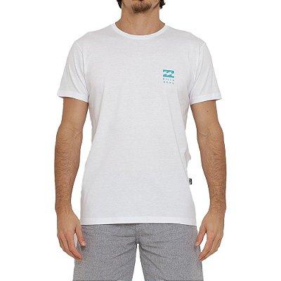 Camiseta Billabong Essential Masculina Branco