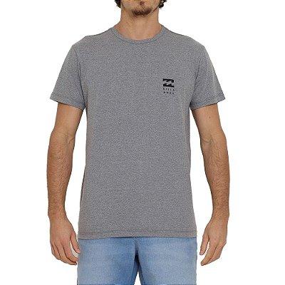 Camiseta Billabong Essential Masculina Cinza