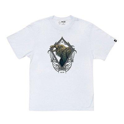 Camiseta MCD Regular Corvus Masculina Branco