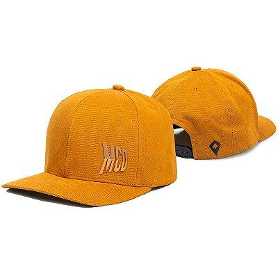 Boné MCD Aba Curva Snap MCD Double Amarelo