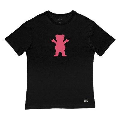 Camiseta Grizzly OG Bear Tee Masculina Preto