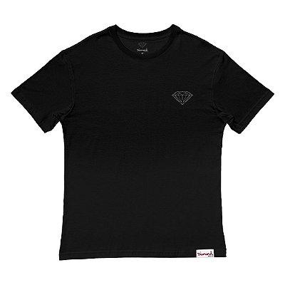 Camiseta Diamond Brilliant Tee Masculina Preto
