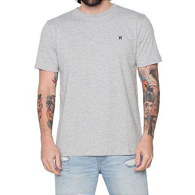 Camiseta Hurley Mini Icon Masculina Cinza Mescla