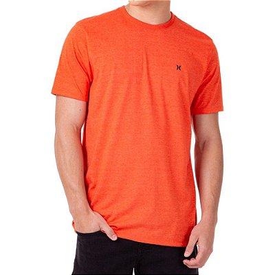 Camiseta Hurley Mini Icon Masculina Vermelho Mescla