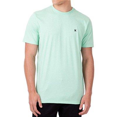 Camiseta Hurley Mini Icon Masculina Verde Claro