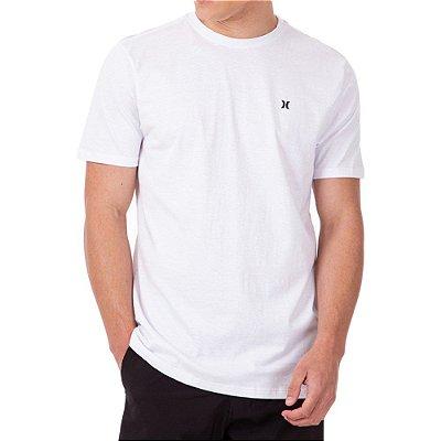 Camiseta Hurley Mini Icon Oversize Masculina Branco
