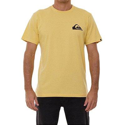 Camiseta Quiksilver Everyday Masculina Mostarda