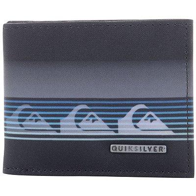 Carteira Quiksilver Freshness Print Preto
