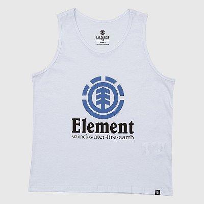 Regata Element Vertical Masculina Branco