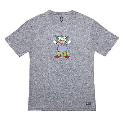 Camiseta Grizzly Clownin SS Tee Masculina Cinza