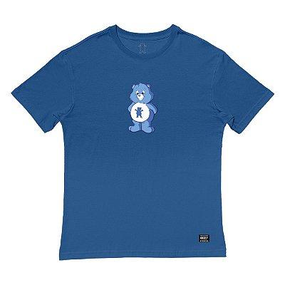 Camiseta Grizzly Positive Bear SS Tee Masculina Azul