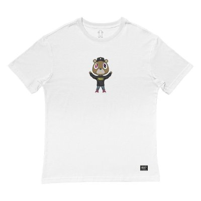 Camiseta Grizzly Touch The Sky Tee Masculina Branco