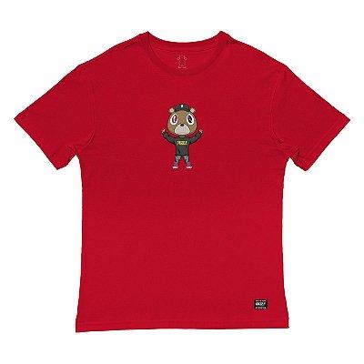 Camiseta Grizzly Touch The Sky Tee Masculina Vermelho