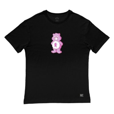 Camiseta Grizzly Positive Bear SS Tee Masculina Preto