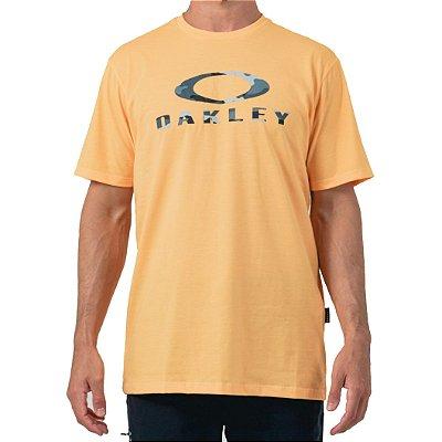 Camiseta Oakley Camo SS Masculina Laranja