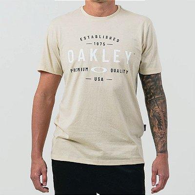 Camiseta Oakley Premium Quality Masculina Off White